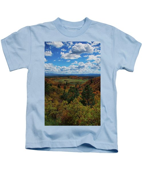 Fall On Four Mile Road Kids T-Shirt