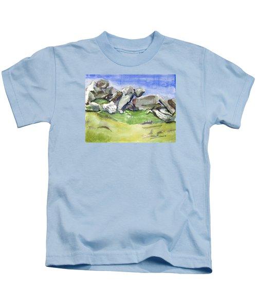 Fallen Stones Kids T-Shirt