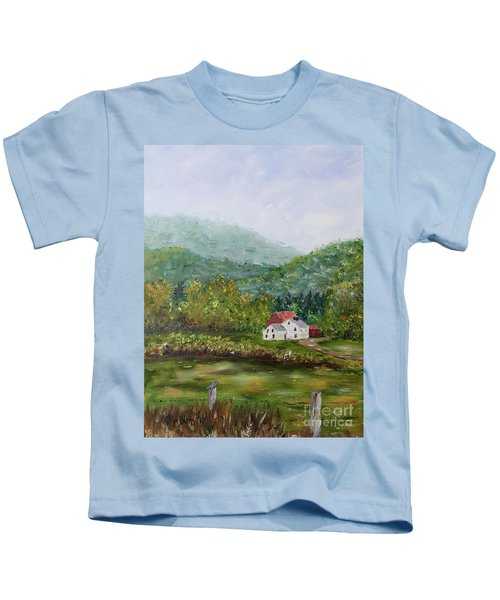 Farm In The Valley Kids T-Shirt