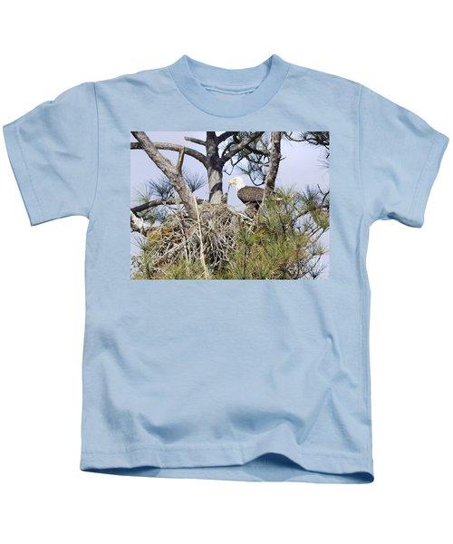 Feeding Little One Kids T-Shirt