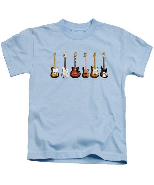 Fender Guitar Collection Kids T-Shirt
