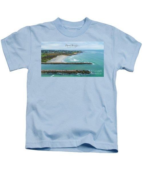 Fenway Beach, Weekapaug Kids T-Shirt