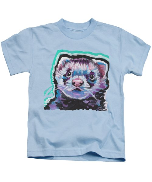 Ferret Fun Kids T-Shirt