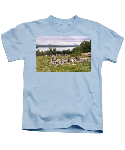 Firewood And Ice Houses Kids T-Shirt