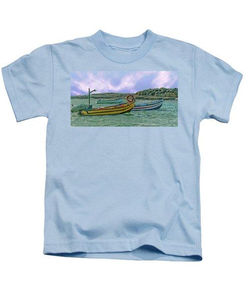 Fishermen's Wharf Kids T-Shirt