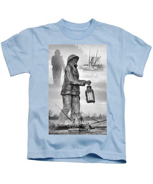 Fishermen - Jersey Shore Kids T-Shirt