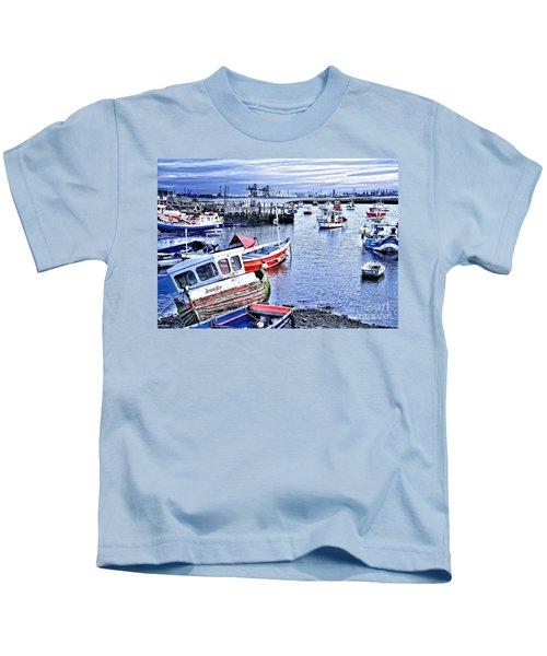 Fishing Boats At 'paddy's Hole' Kids T-Shirt