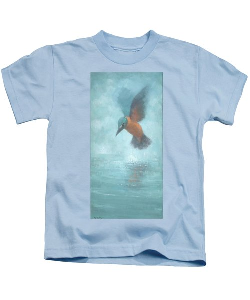 Flame In The Mist Kids T-Shirt