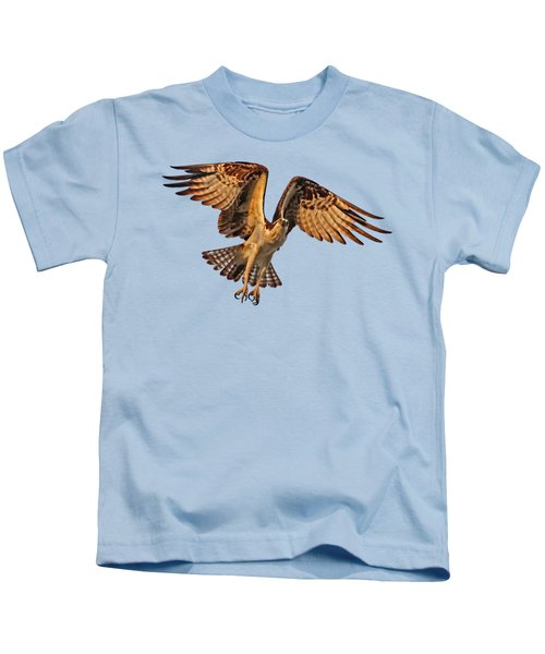 Flight Of The Osprey Kids T-Shirt