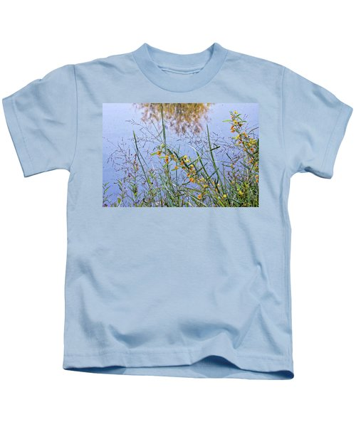 Floral Pond  Kids T-Shirt