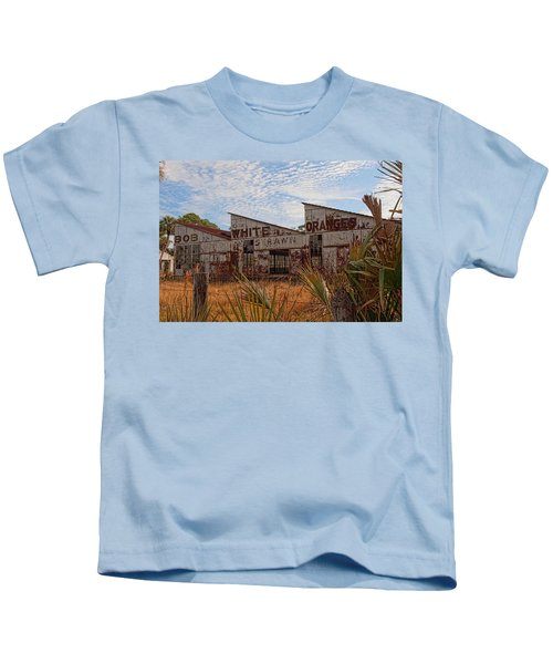 Florida Oranges Kids T-Shirt
