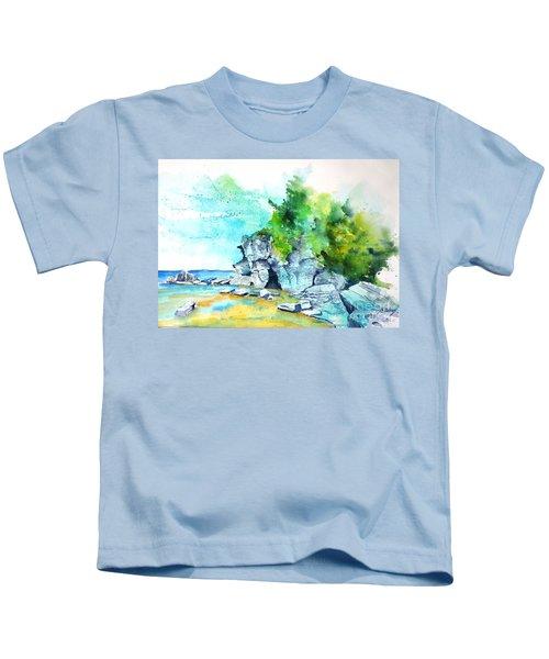 Flower Pot Island Kids T-Shirt