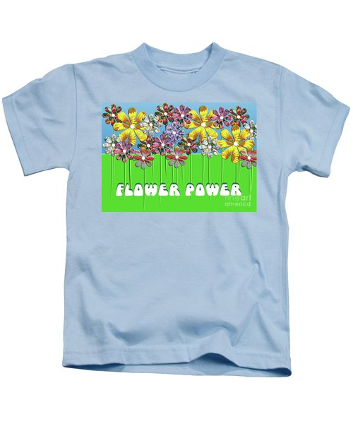 Flower Power Kids T-Shirt