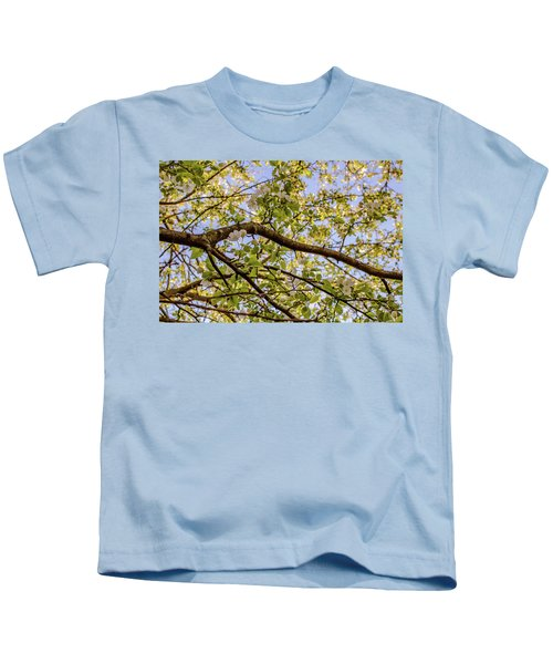 Flowering Crab Apple Kids T-Shirt