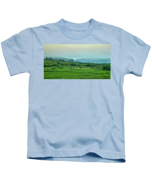 Foggy Day #g0 Kids T-Shirt