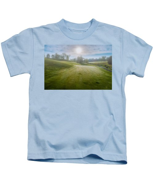 Foggy Look Back Kids T-Shirt