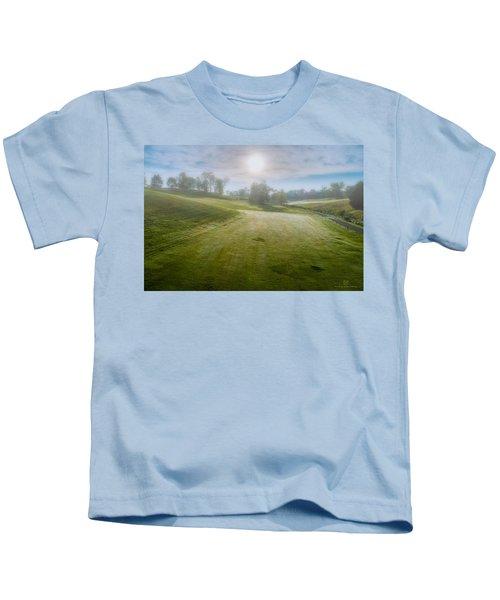 Foggy Look Back Kids T-Shirt