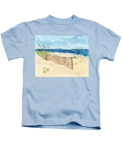 Folly Field Fence Kids T-Shirt