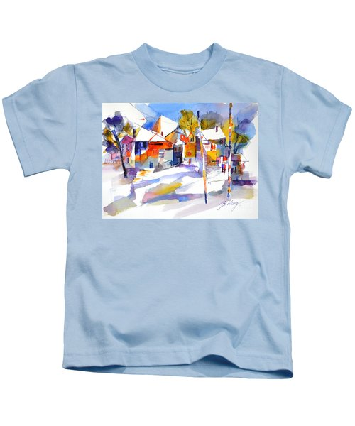 For Love Of Winter #2 Kids T-Shirt