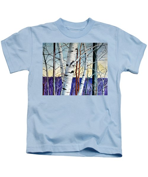 Forest Of Trees Kids T-Shirt
