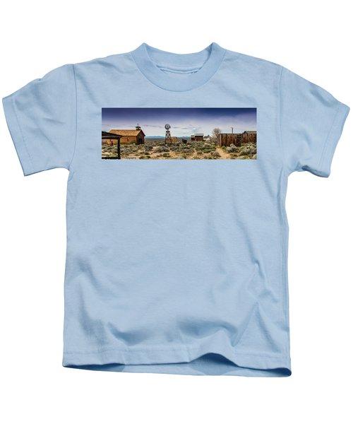 Fort Rock Museum Kids T-Shirt