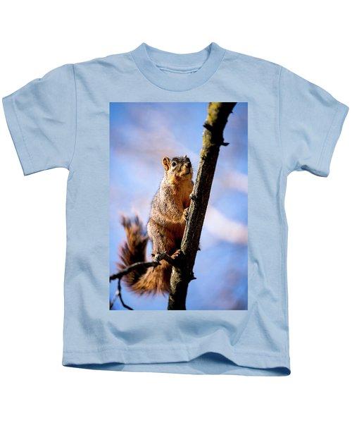 Fox Squirrel's Last Look Kids T-Shirt