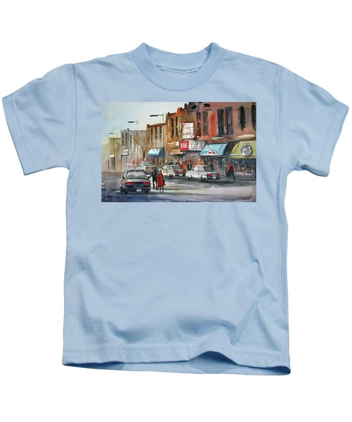 Fox Theater - Steven's Point Kids T-Shirt