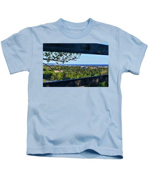 Framed View Kids T-Shirt