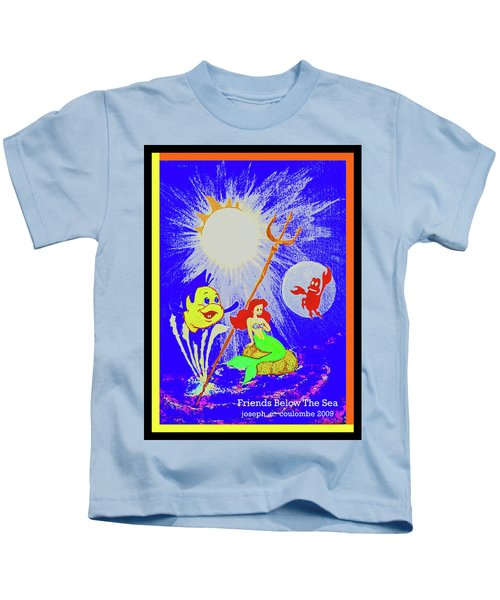 Friends Below The Sea Kids T-Shirt