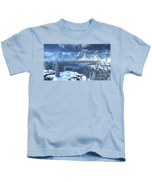 From An Open Sleigh Kids T-Shirt