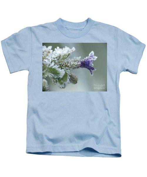 Frosty Flower Kids T-Shirt