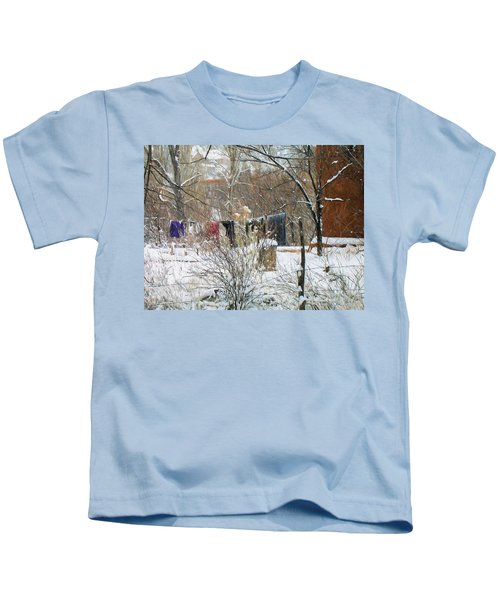 Frozen Laundry Kids T-Shirt
