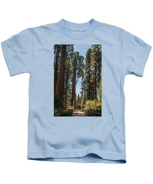 General Grant Tree Kings Canyon National Park Kids T-Shirt