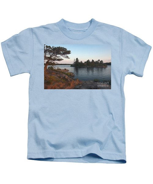 Georgian Bay Sunrise-4299 Kids T-Shirt