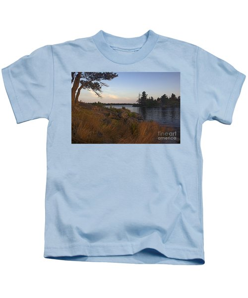 Georgian Bay Sunrise-4300 Kids T-Shirt