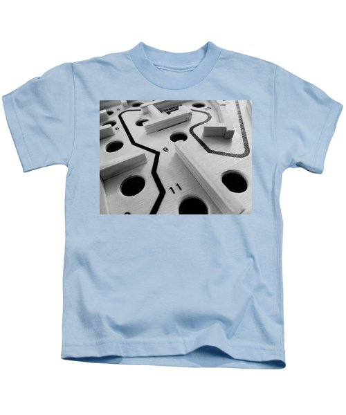 Get Me To The Finish Kids T-Shirt