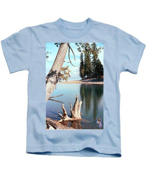 Glacier National Park 4 Kids T-Shirt