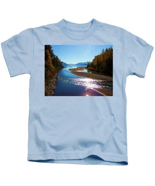 Glacier Park 9 Kids T-Shirt