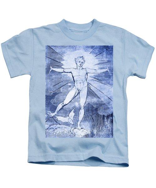 Glad Day By William Blake Kids T-Shirt