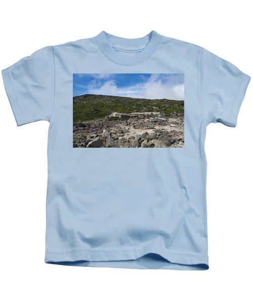 Glendasan Abandoned Mining Site Village Kids T-Shirt