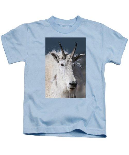 Goat Portrait Kids T-Shirt