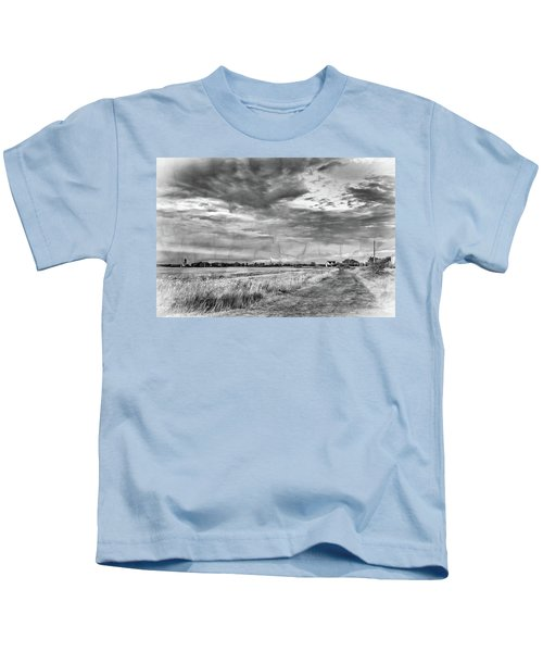 Goin' Home 2 - Overlay Bw Kids T-Shirt