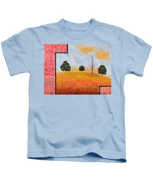 Golden Elegance Kids T-Shirt