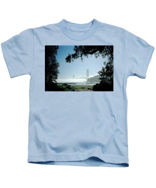 Golden Gate Fog  Kids T-Shirt