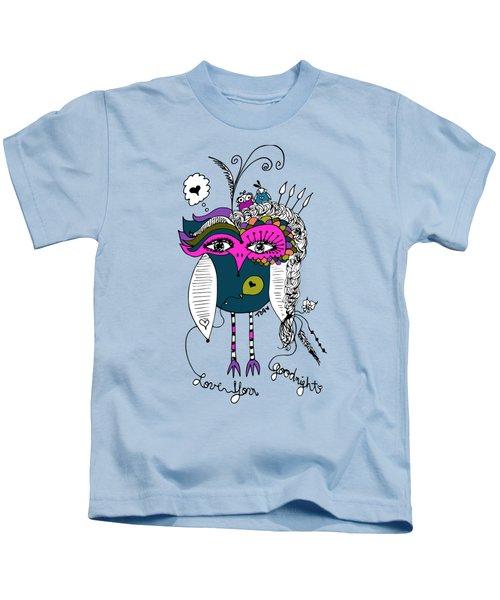 Goodnight Owl Kids T-Shirt