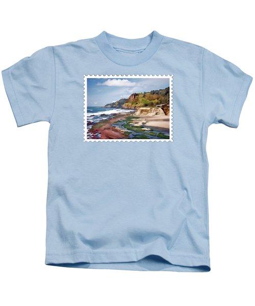 Gorgeous Oregon Coast Kids T-Shirt
