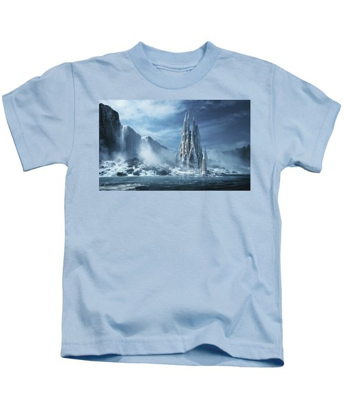 Gothic Fantasy Or Expiatory Temple Kids T-Shirt