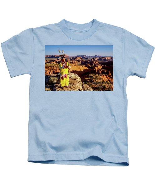 Grass Dancer Kids T-Shirt