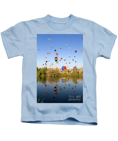 Great Reno Balloon Races Kids T-Shirt