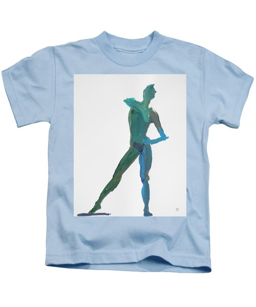 Green Gesture 2 Pointing Kids T-Shirt